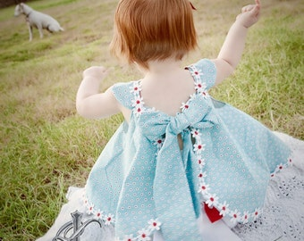Childrens Spring Twirl Sundress & Ruffled Bloomers Childrens Fashion size Newborn - 18 months