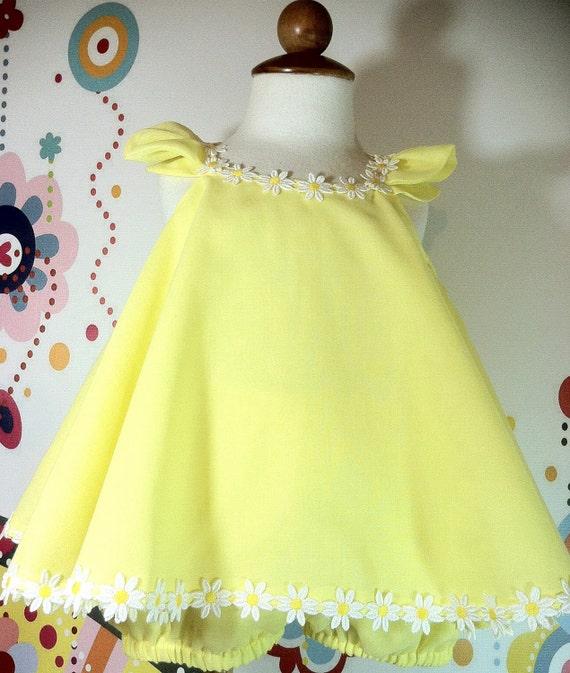Easter Dress & Ruffled bloomers Lemon Cake by NanaJustbananas