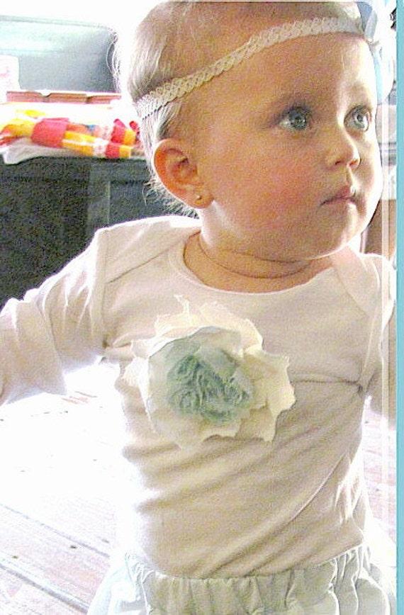 Girls Baby Toddlers Vanilla Sky Custom Long Sleeve Onesie  0-3 mos,3-6 mo, 6-12 mo,18 -24