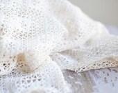 Pure Cotton Lace Wrap