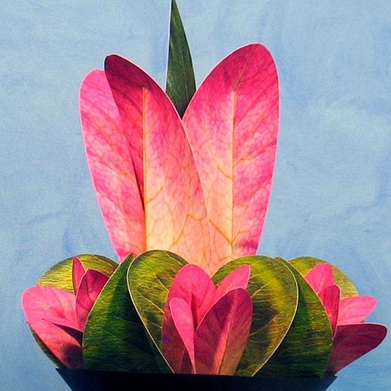 Paper Flower Arrangement at Paper Arboretum