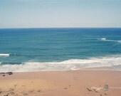 Landscape Photography - The Blue Ocean 8x12 nature sea beach summer film print