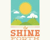 SALE!  Arise and Shine Forth Young Women 5x7 Print