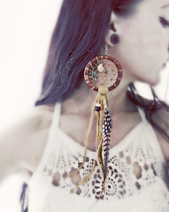 MADE TO ORDER-Dream Catcher Earring