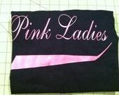 Hot pink Pink Ladies shirt tshirt  -- Grease -- 2xl