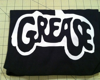 GREASE CAR TSHIRT - Small Medium Large XLarge 2XLarge -- Many colors to choose from
