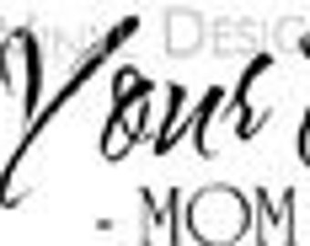 Vinyl wall art --  Wash your Hands - Mom said so  --B002--You pick size.  decal sticker