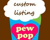 Custom Listing for Katie Melligan:  19 cones