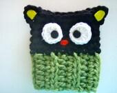"Crochet Sanrio Choco Cat Coffee Cozy PATTERN PDF for 5"" & 2-3/4"" cuff"