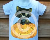 Halloween Kitty and Pumpkin -- Available in Tank top,Cap sleeve or Long sleeve