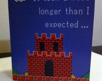 Mario Card Template