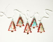 Christmas Garland, Party Banner, Holiday Decoration - stitchinnetka