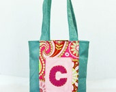 Personalized Tote Bag, Child size , Custom Handbag