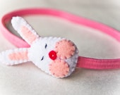 Easter Bunny Headband- Spring Fashion for Children