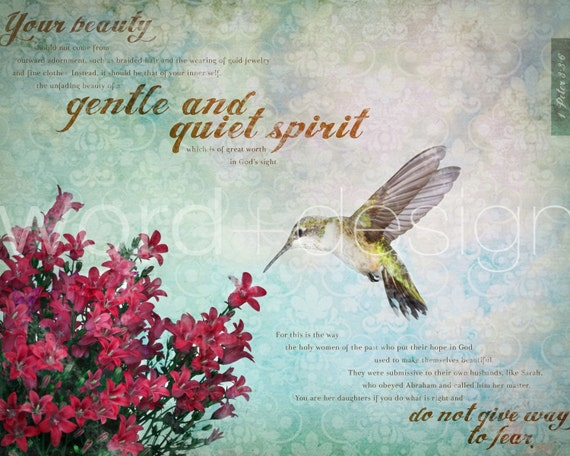 Gentle and Quiet Spirit