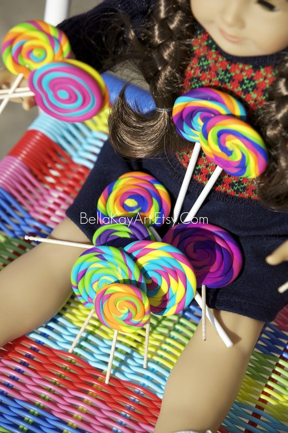 Candy Shoppe for American Girl Doll / Faux CandyLollipops
