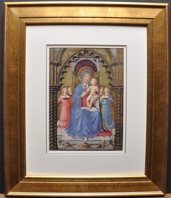 Virgin and Child with Saints, virgin mary and baby jesus, jesus, religious art
