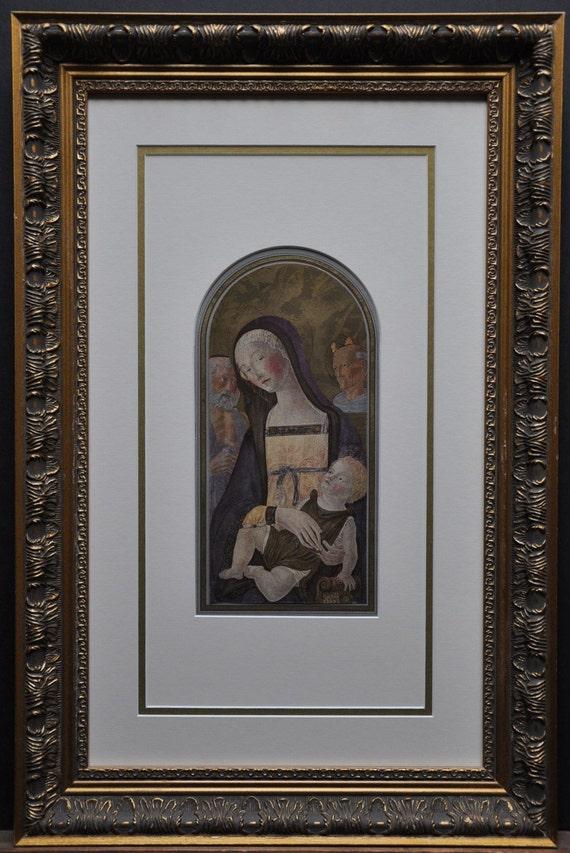 The Virgin and Child by Neroccio di Bartolommeo Landi, madonna and child, jesus and virgin mary, baby jesus