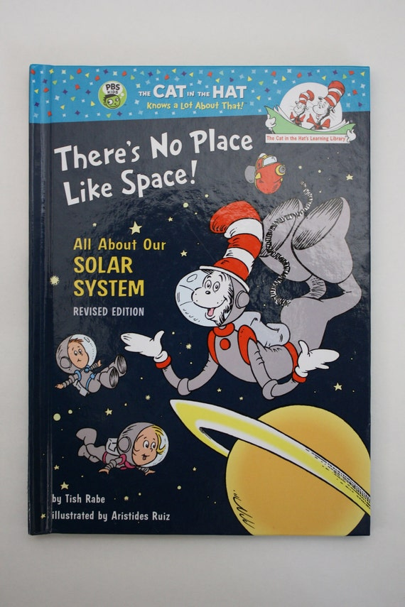 Upcycled Ereader Cover: Dr. Seuss There's no Place like Space