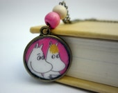 moomins pendant necklace