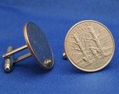Vermont Sugar Maple Tree 2001 Quarter 25c USA Coin - New Cufflinks