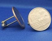 Kentucky 2001 Quarter 25c USA Coin - New Cufflinks