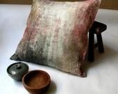 "Tasteful linen cushion ""Light in the Forest"""