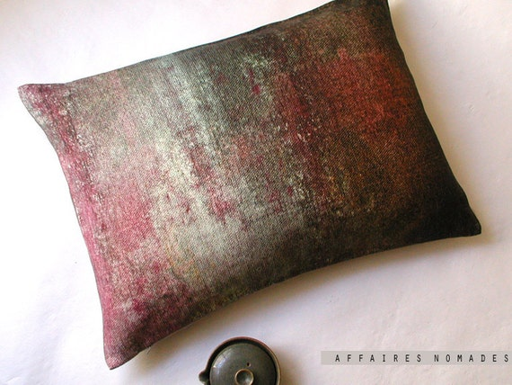 Linen Chic  Cushion .. Light in the Forest  / FRAGMENTS