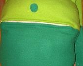 Custom plush handmade Adventure Time Human Finn backpack