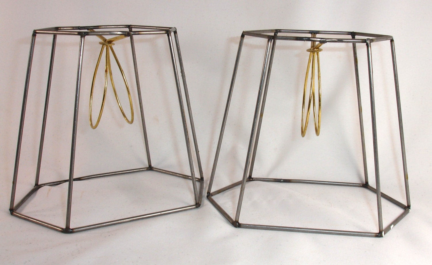 PAIR Shade Frames Steel Lampshade Wire Small