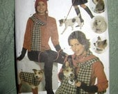 Simplicity pattern 4749  uncut matching outfits for you and your doggie