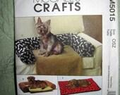MCalls Crafts Pattern M5015 uncut doggie bed, mats, cushions