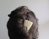 Elk Antler Hair Comb Hair Fork Statement Hairpiece Tribal Fashion - JCMcCairn
