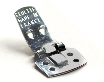 Authentic BLUETTE shoe clips - Made in France - Free Shipping - Stamped Packet of 36 - SAMPLES included in every order.