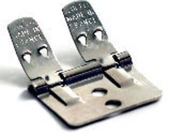 12 Authentic Jumbo BLUETTE shoe clips - Made in France - Packet of 12 - SAMPLES included in every order.