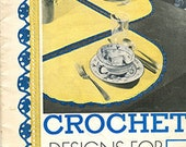 1934 Crochet Designs for the Hostess