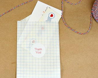 """Mini Bags - Mini Paper Bags - Small Favor Bags - Small Gift Bags, 2.75"""" x 4"""", Set of 20"""