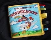 Mother Goose cloth tag book
