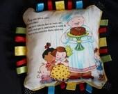 Tag Pillow - Mother Goose - Pat a Cake