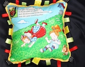 Tag Pillow - Mother Goose - Jack and Jill