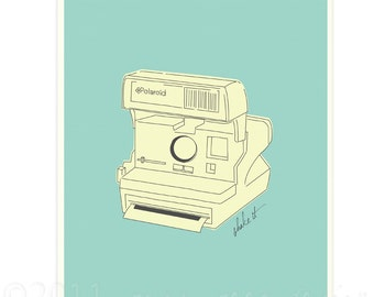 SALE - Shake It Polaroid Print 8.5x11