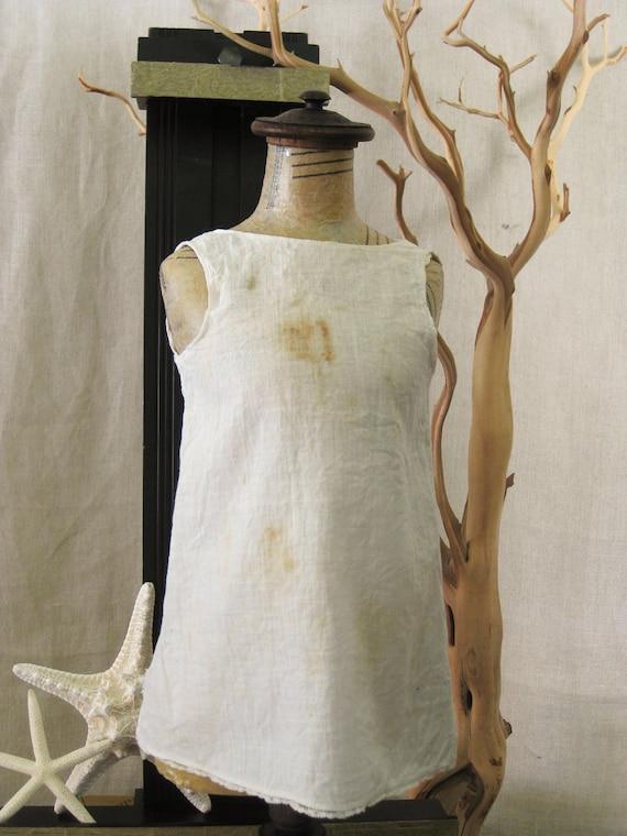 Antique Cotton Doll Clothes- Doll Parts