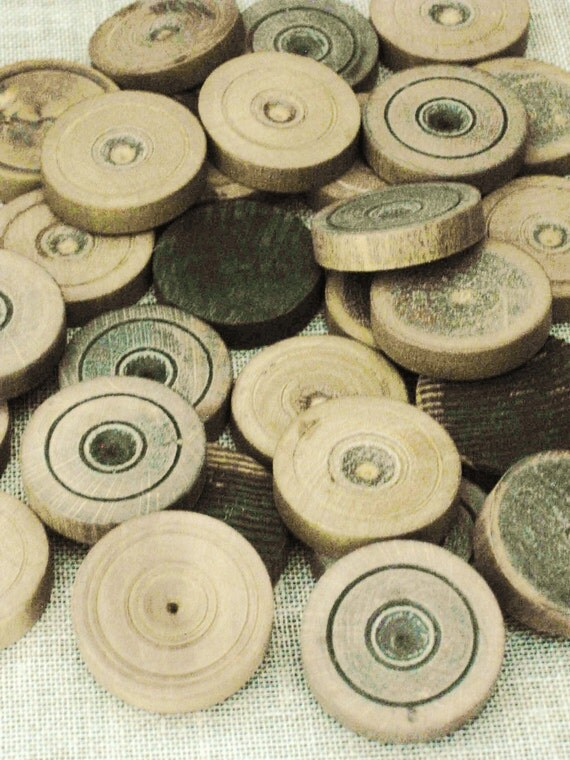 Primitive Antique Checkers- Wood Parts and Such