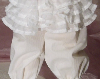 bjd dollfie (Bitter & Sweet) white bloomers