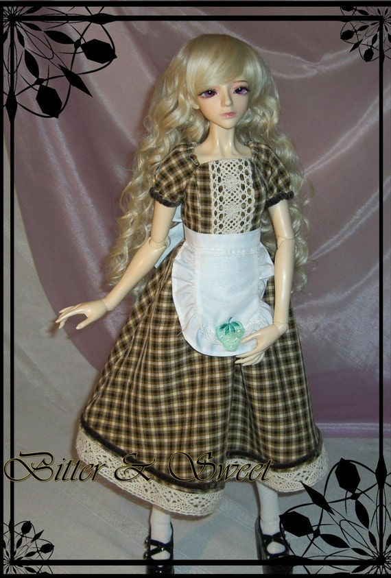 bjd dollfie (Bitter & Sweet) lolita country style outfit