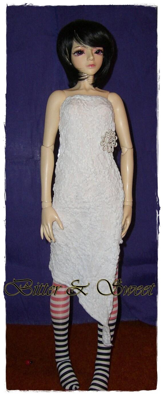 bjd dollfie (Bitter & Sweet) Forest fairy style white tube dress ver.2