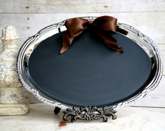 Wedding French Tuscan Wedding Chalkboard and Magneticboard all in one. Free piece of chalk included. New LARGE Size