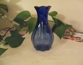 Farmhouse Cobalt Blue Vase