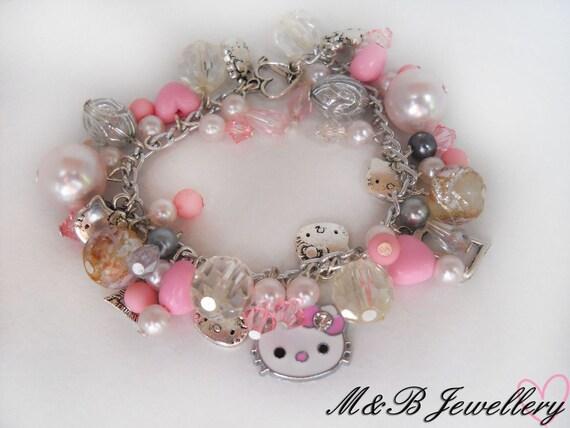 Hello Kitty Charm Bracelet - Made in New Zealand