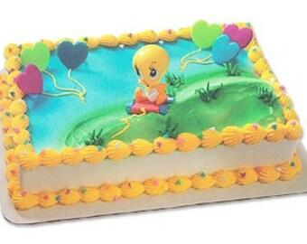Baby Tweety Cake Topper